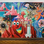 Kenny Scharf, When the Worlds Collide, 1984