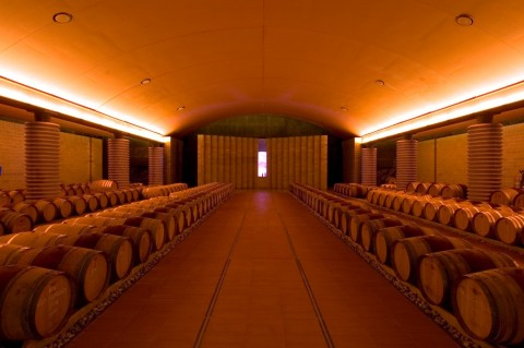Mario Botta, Cantina Petra,  Suvereto 2003 - photo Enrico Cano