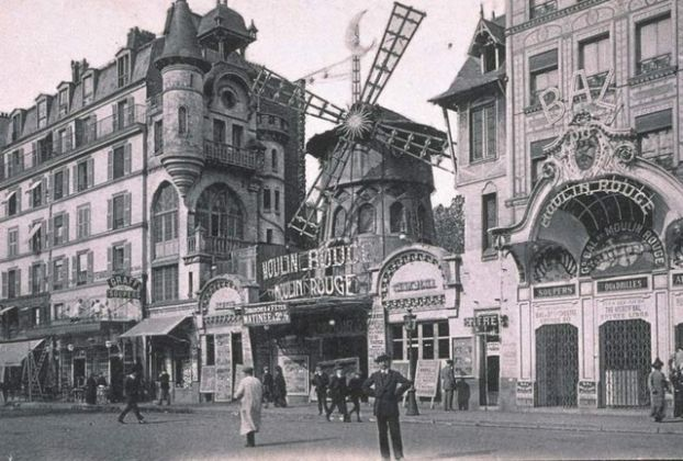 Montmartre - il Moulin Rouge