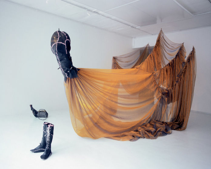 Nicholas Hlobo, Unongayindoda (One who Almost Looks Like a Woman), 2005-06 - courtesy Stevenson, Cape Town-Johannesburg