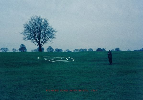 Richard Long, The Downs Bristol, 1967 - courtesy dell'artista
