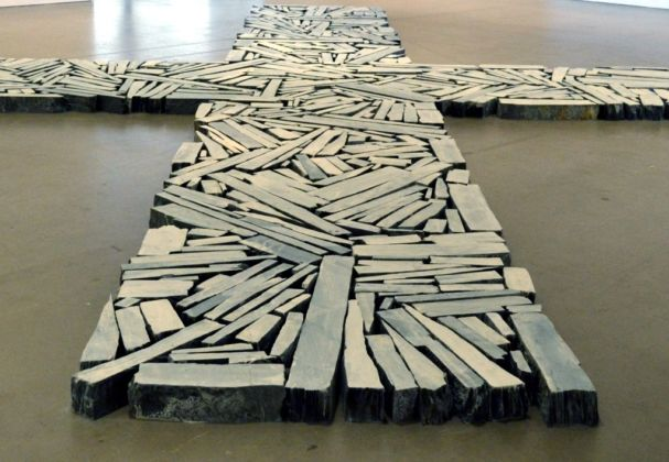Richard Long, Time and Space, 2015 - photo di Luz Gallardo-Franco