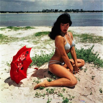 Bettie Page, Courtesy of Michael Fornitz Collection