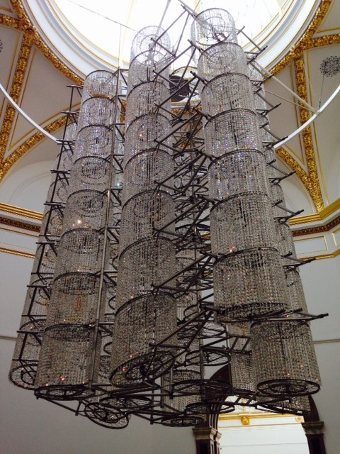 Ai Weiwei, Bicycle Chandelier, 2015
