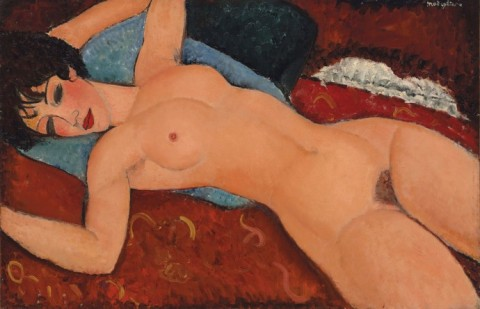 Amedeo Modigliani, Nu Couché (1917)
