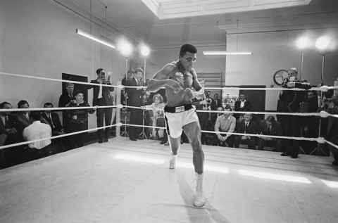 Muhammad Ali (Cassius Clay, all'anagrafe)