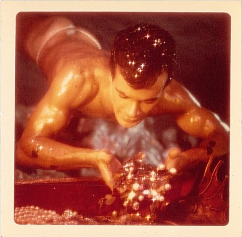 James Bidgood, Untitled - Sandcastles Series #4, 1963-68, 30 x 30 cm, Galleria Lorcan O'Neill