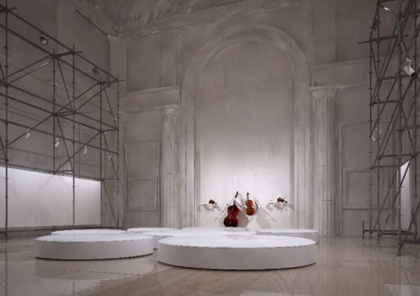 MEL | Architecture and Design – architettura del Main Project, Mosca 2015 - courtesy of the Moscow Biennale Art Foundation