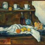 Paul Cézanne, Il Buffet, 1877-79 - ©Museum of Fine Arts, Budapest 2015