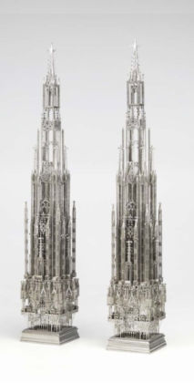 Wim Delvoye, Untitled (Twin Towers Venice), 2009