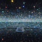 Yayoi Kusama, Infinity Mirrored Room, Broad Museum, Los Angeles