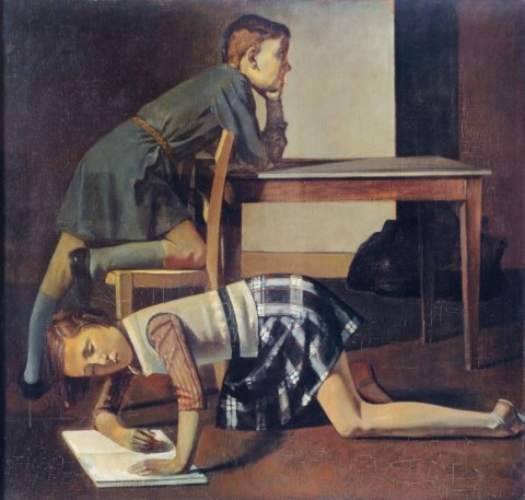 Balthus, Les Enfants Blanchard, 1937 - Paris, Musée national Picasso - © Balthus © Mondadori Portfolio-Leemage-Paris, Musée Picasso-Photo Josse