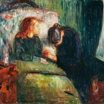 Edvard Munch, La bambina malata, 1907 - Tate, Londra - photo Tate London 2014