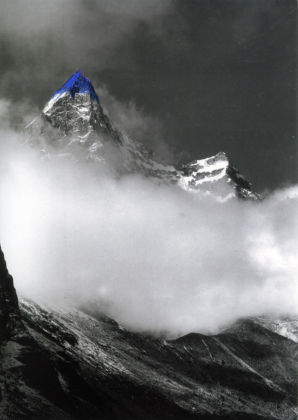 Jan Fabre, Northern Slope, Malung La (Tibet), 1989 - dalla serie Mountain tops