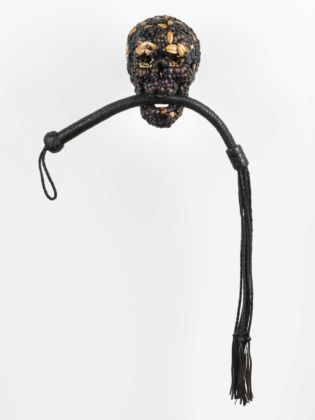 Jan Fabre, Skull with Whip, 2013