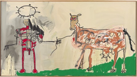 Jean-Michel Basquiat, The Field Next to the Other Road