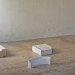 Madoka Furuhashi, Il Quarto Stato, 2015, Botticino With Partial Cuts, White Turkish Limestone With Partial Cuts courtesy Beyond Entropy