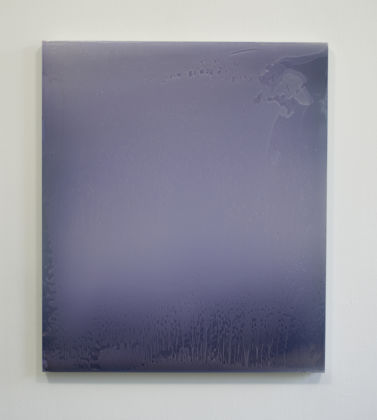 Matt McClune, Pale violet painting (metallic pigments)