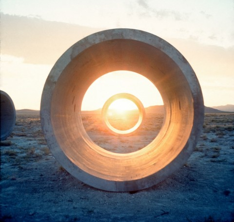 Nancy Holt, Sun Tunnels, 1976 - from Troublemakers - © Holt Smithson Foundation-Licensed by VAGA, New York