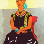 Roxy in the Box, Chatting, 2015 - Frida Kahlo