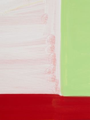 Stanley Whitney, Goya Red, 2014