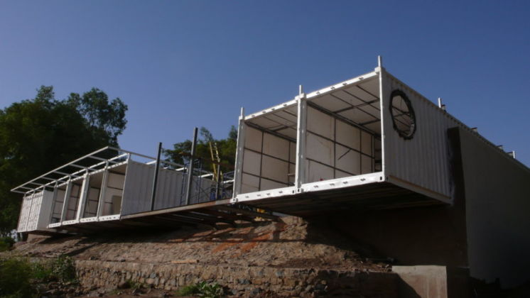 TAMassociati, Container compound a Khartoum – photo Marcello Bonfanti