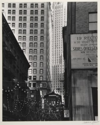 Berenice Abbott, New York, 1938