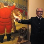 Botero in China, Museo Nazionale di Pechino (foto notimerica.com)