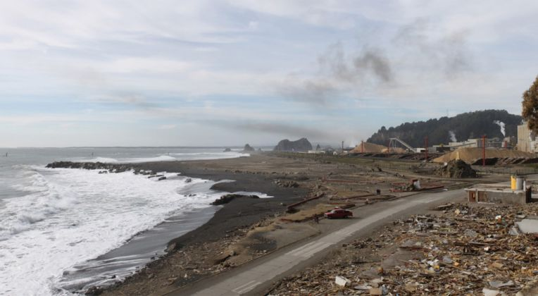 Constitución Seaside after 2010 Earthquake & Tsunami (destruction)