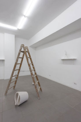 Dominik Lang, Reconstruction, 2015 - courtesy The Gallery Apart, Roma – photo Giorgio Benni