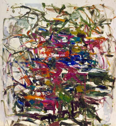 Joan Mitchell, Cercando un Ago, 1957 - © Estate of Joan Mitchell, Collection of the Joan Mitchell Foundation, New York, photo Günter König