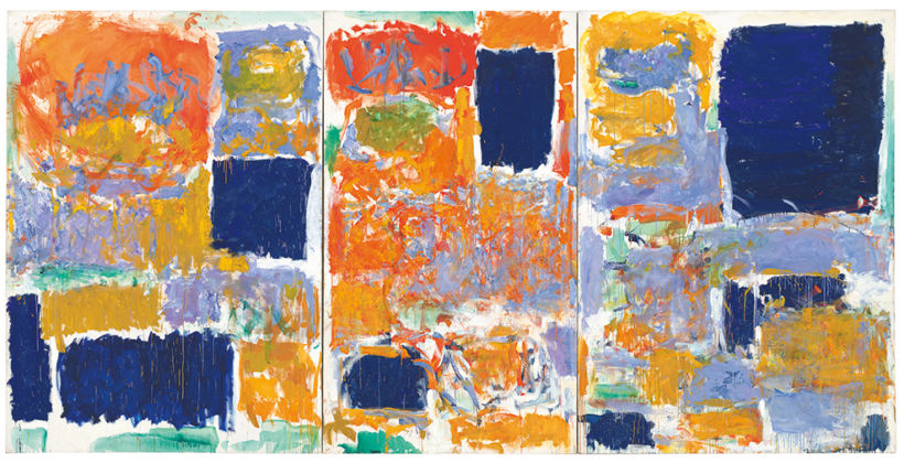 Joan Mitchell, Closed Territory, 1973 - © Estate of Joan Mitchell, private collection, photo Günter König