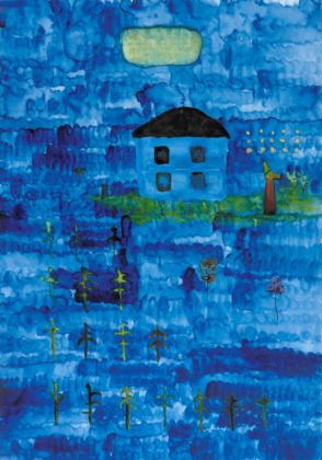 John Lurie, After she left, he would stand out in the yard at night and quietly say her name