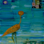 John Lurie, Swamp Bird with Square Flowers