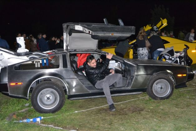 Lucca Comics & Games 2015 - Cosplayers. DeLorean