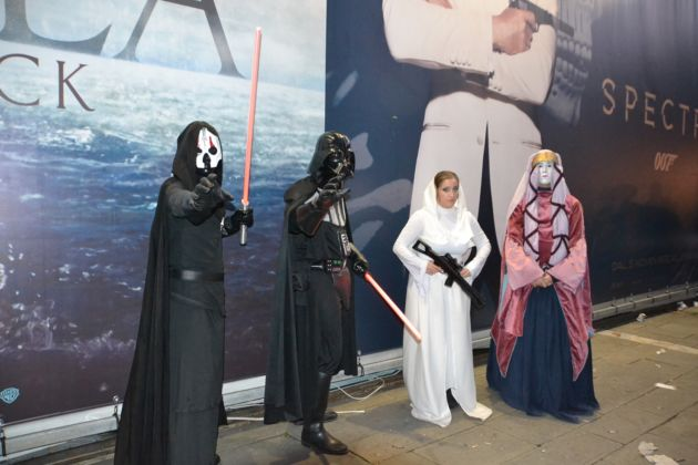 Lucca Comics & Games 2015 - Cosplayers. Star Wars