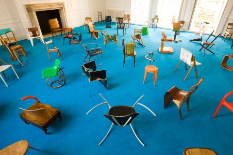 Martino Gamper, 100 Chairs in 100 days, 2007, Courtesy the artist and Galleria Nilufar (foto Angus Mill)