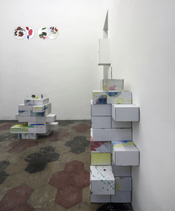 Ryan Gander & Olive May Gander – Jolly Grown Up - veduta della mostra presso Quartz Studio, Torino 2015