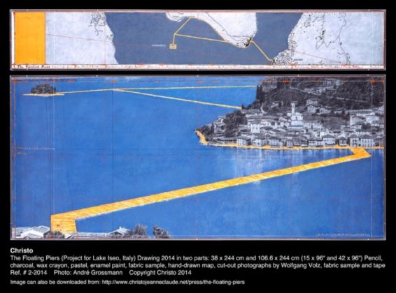 The Floating Piers, Christo