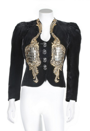 A rare and important Elsa Schiaparelli 'Hall of Mirrors' jacket, 'Zodiac' collection, Autumn-Winter, 1938-39