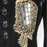 A rare and important Elsa Schiaparelli 'Hall of Mirrors' jacket, 'Zodiac' collection, Autumn-Winter, 1938-39 - detail