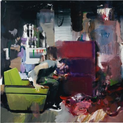 Adrian Ghenie, The Fake Rothko, 2010