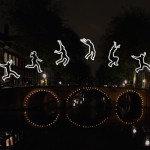 Angelo Bonello, Run Beyond, Amsterdam Light Festival