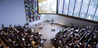 Between the Discursive and the Immersive - Louisiana Museum of Modern Art, Humlebaek 2015 - auditorium - photo Klaus Holsting
