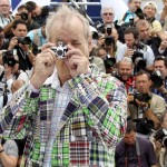 Bill Murray fotografato a Cannes da Joel Ryan - gigantografia allestita all'esterno del Baltic di Gateshead