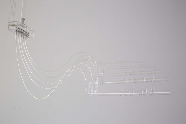 Cerith Wyn Evans, Interlude (A=D=R=I=F=T), 2011-14 - courtesy of the artist & White Cube - photo Eleonora Milner