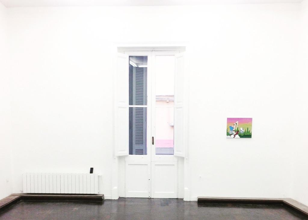 Dustin Pevey – Deep Ass Thoughts - Galleria Annarumma, Napoli 2015 - photo Eleonora Angela Maria Ignazzi