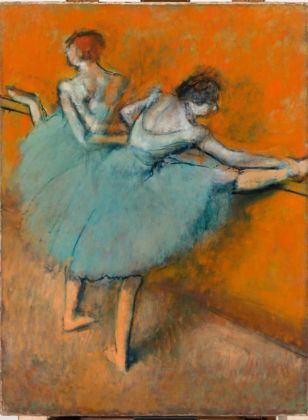 Edgar Degas, Ballerine alla sbarra, 1900 - olio su tela - Phillips Collection, Washington