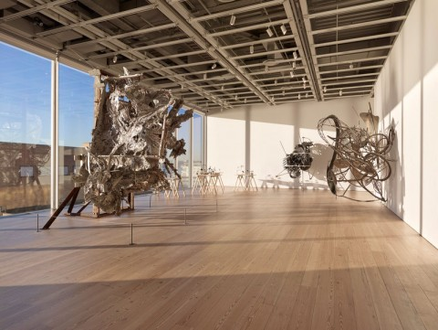 Frank Stella - A Retrospective - Whitney Museum, New York 2015 - photo Ronald Amstutz