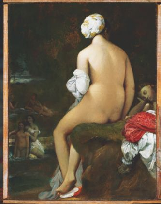 Jean-Auguste-Dominique Ingres, La piccola bagnante, 1826 - olio su tela - Phillips Collection, Washington